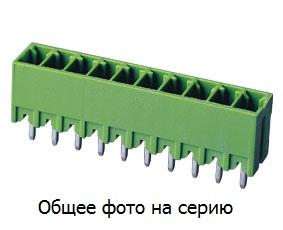 "Клеммник 12 конт. ""вилка"" шаг 3.50 мм закр., в …"