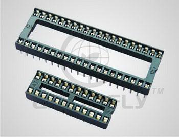Панель DIP 8 конт. шаг 2.54 мм, на плату (ан. SCS-8/ SCS-08) Connfly DS1009-08 AT1NX-0A2 - DS1009-08 AT1NX-0A2