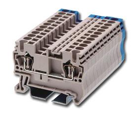 Клеммный блок на DIN-рельс, пружин. (2.5 кв.мм, 600В/20А …