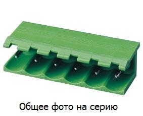 "Клеммник 20 конт. ""вилка"" шаг 5.00 мм откр., п …"