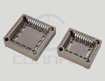 Панель PLCC 84 конт., SMT на плату, Hизол. = 4.6 мм (ан. …