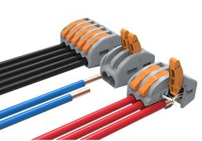 Клеммник 2 конт. зажимной электромонт., шаг 4.61 мм (пров. до 2.5 кв.мм) Degson DG223-4.61-02P-11-00 AH