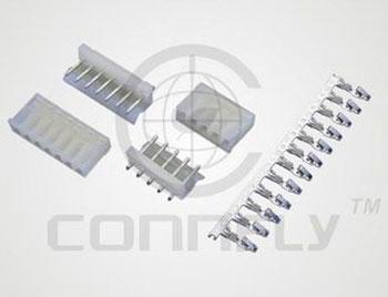 "Разъем пит./сигн. ""вилка"" 4 конт. (1x4) шаг 5.08 мм, верт. на плату (ан. MPW-4) Connfly DS1074-4 MVT6 - DS1074-4 MVT6"