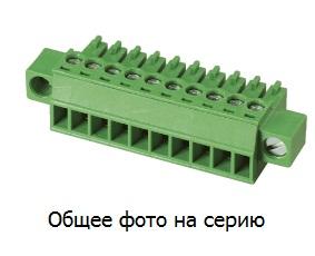 """Клеммник 5 конт. """"гнездо"""" шаг 3.81 мм (с фикс. …"""