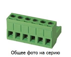 """Клеммник 4 конт. """"гнездо"""" шаг 5.00 мм 5ESDV-04 …"""