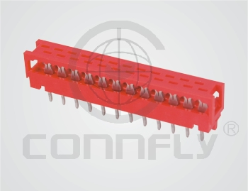 Разъем M-Match-DIP 18 к.(2x9) шаг 1.27 мм (2.54/2), верт …