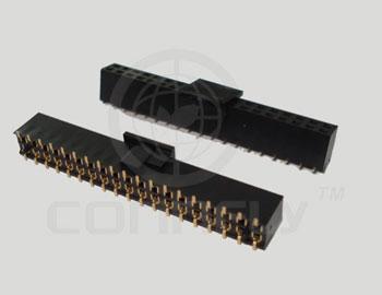 """Разъем """"гнездо"""" 4 конт. (2x2) шаг 2.54 мм, SMT на пл. (с поляриз./с """"mylar"""") Connfly DS1023-17-2*2 B8SRX-ELTECH-011 - DS1023-17-2*2 B8SRX-ELTECH-011"""