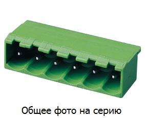 "Клеммник 3 конт. ""вилка"" шаг 5.00 мм закр., пр …"