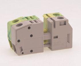 Клеммный блок проходн. винт., на пан. (4.0 кв.мм, 300В/3 …