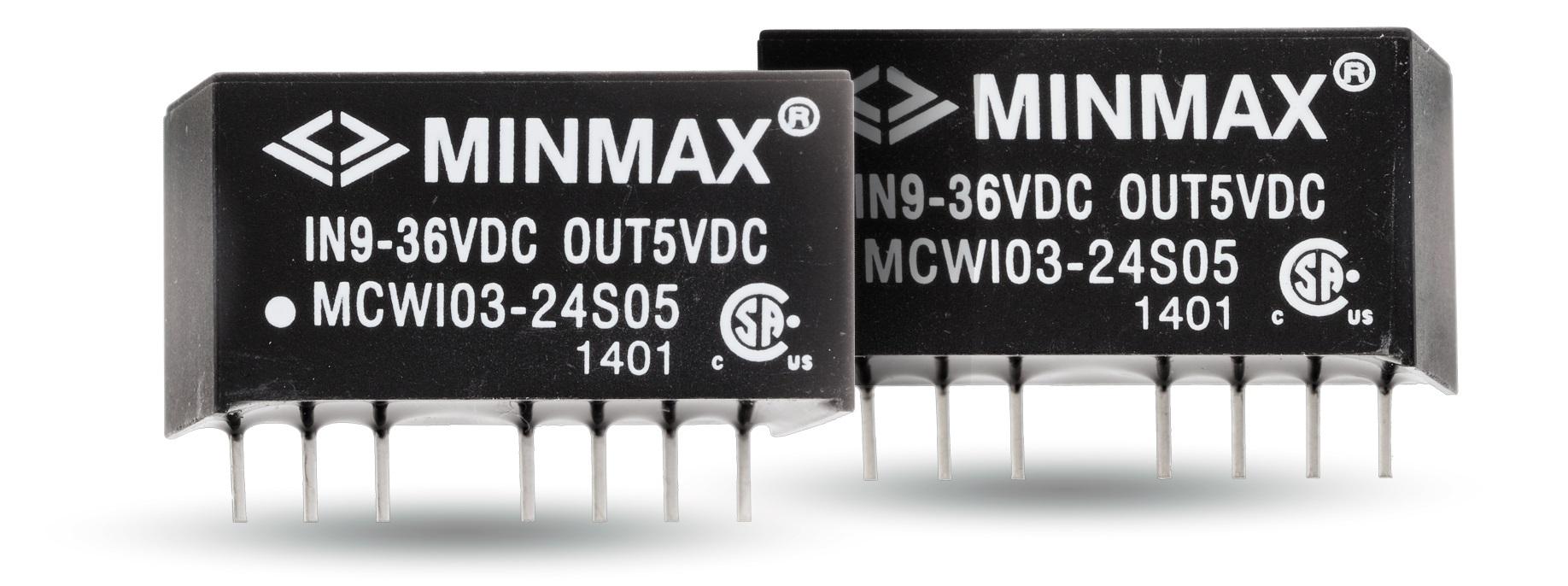 Источник питания MINMAX MCWI03-24S12