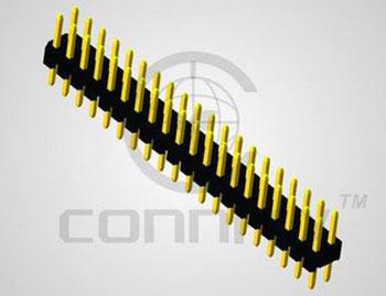Штыри 2x12 конт. шаг 2.00 мм, верт. на пл. (2.8 мм/ 4.0 мм) (ан. PLD2-24) Connfly DS1025-05-2*12 P8BV1 - DS1025-05-2*12 P8BV1