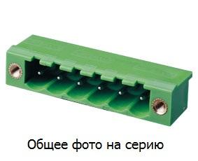 """Клеммник 3 конт. """"вилка"""" шаг 5.00 мм (с бок. р …"""