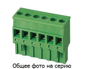 "Клеммник 3 конт. ""гнездо"" шаг 5.08 мм (с бок.  …"