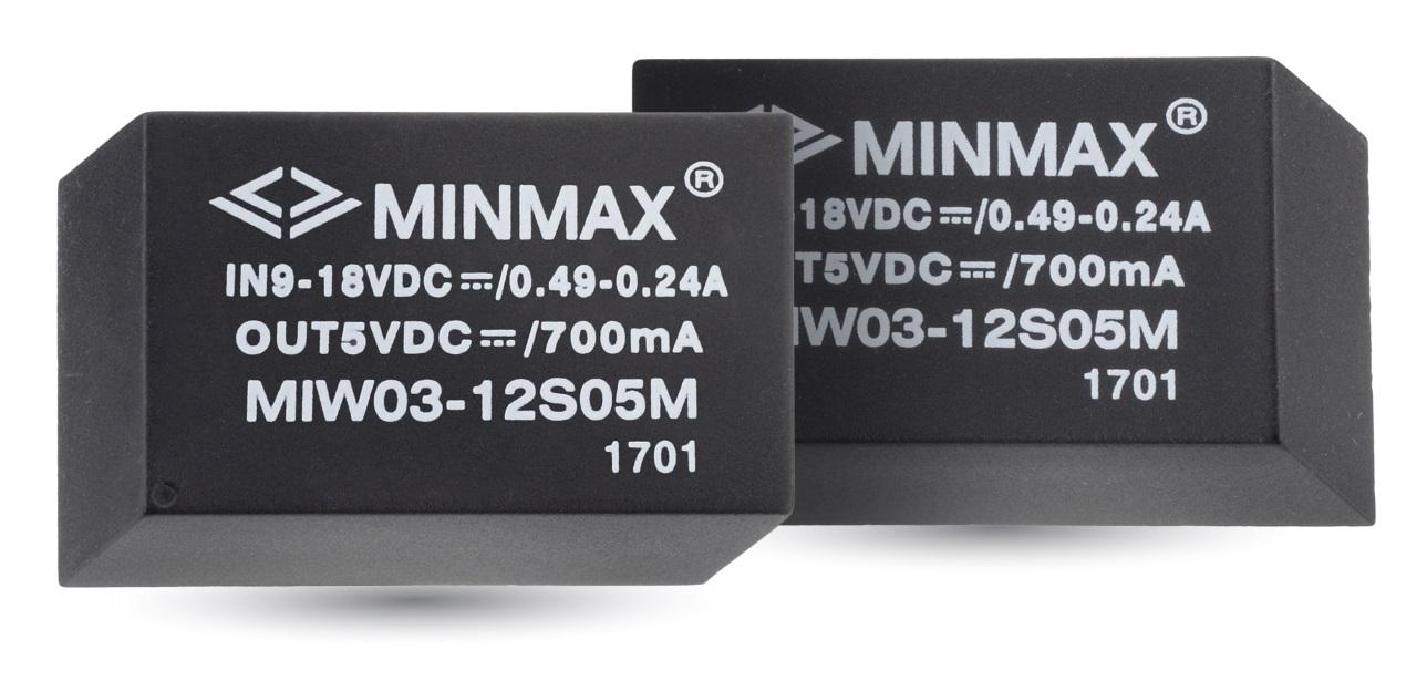 Источник питания MINMAX MIW03-05D12H