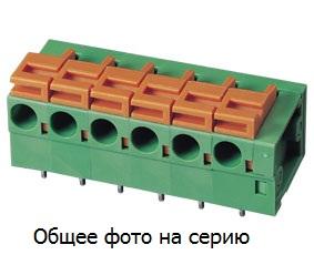 Клеммник 2 к. шаг 5.08 мм (межрядн. 7.62 мм, зажимной),  …