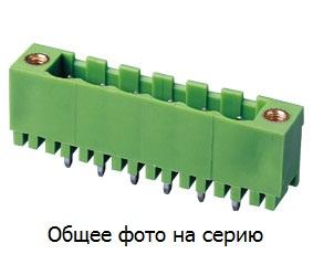 """Клеммник 2 конт. """"вилка"""" шаг 5.08 мм (с бок. р …"""