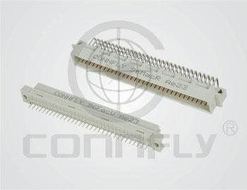 """Разъем DIN-41612 48 к. (3x16) """"гнездо"""" ш. 2.54 …"""